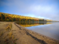 Autumn Morning At Monocle Lake