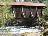 Covered Bridge In Yosemite National Park
