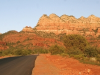 Lonely Bike Ride On The Back Roads Of Sedona