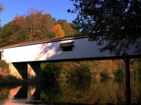 Reflections Of Adams Mill Covered Bridge