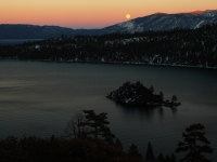 Emerald Bay Moon