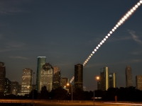 Houston Moonrise