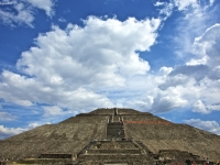 The Pyramid Of The Sun...