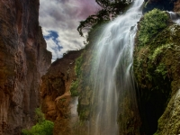 Below Mooney Falls, Havasupai Canyon