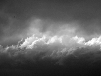 Thunderhead In B&w