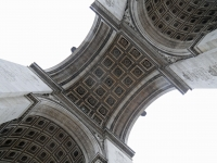 A Different View Of The Arc D'triomphe