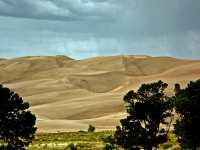 Approaching Storm Over Great Sand Dunes