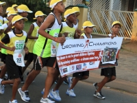 Growing Champions - Running For Charity