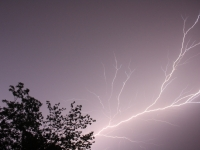 Lightning Bolts Over Jefferson, Ma