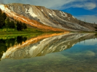 Mammoth Reflections, Yellowstone N.p.