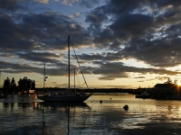 Sunset At Boothbay Harbor