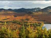 Heart Lake, Algonquin Mountain And The High Peaks
