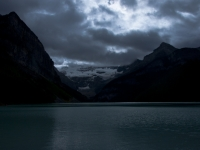 Clouds Over Lake Louise
