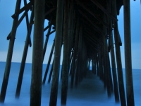 Kure Beach Fishing Pier, Pre Dawn