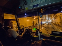 Bus Driver In Lincoln Tunnel