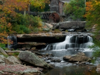Fall At Glade Creek Grist Mill