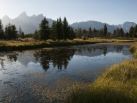 Grand Tetons From Schwabacher Area