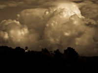Tuscan Storm Clouds