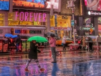 Rainy Day, Times Square