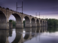 The Yardley Railroad Bridge