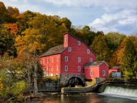 Old Mill In Clinton Nj