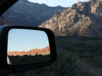 Leaving Red Rock Canyon