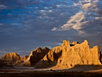 Badlands - Clearing Storm At Sunset #2