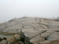 Peggy's Cove On A Foggy Day