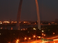 Arch At Night