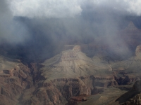 Snow Squall Over Grand Canyon