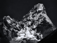 Ama Dablam Under A Full Moon