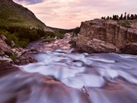 Swiftcurrent River, Glacier National Park
