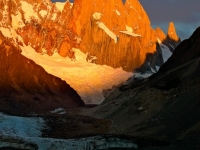 First Light On Cerro Torre, Patagonia