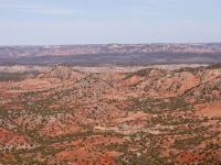 100 Degrees In Palo Duro Canyon