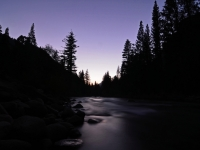 Kings Canyon River Sunset