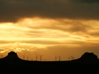 Wind Farm At Pawnee Buttes