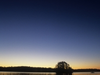 Moon Over Boundary Waters