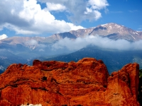 Kissing Camels And Pikes Peak