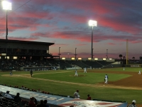 Whataburger Field At Sunset