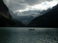Evening On Lake Louise
