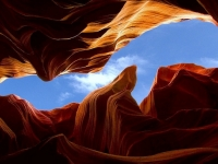Re: Looking Up Thru Antelope Canyon