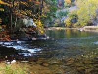 Penns Creek Blue Rock Hole October 2012
