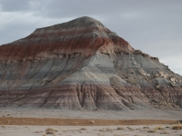 Colored Tepee At The Petrified Forest National Park