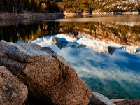 South Lake, Sierra Nevada Mountains, California