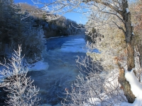 Piers Gorge In Winter