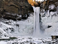 Taughannock Falls In Winter