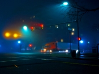 Intersection In Fog