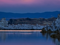 Moonrise Over Monolake - (2012 Wolf Moon)