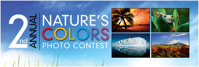 2nd Annual Nature's Colors Photo Contest