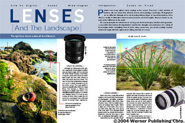 Lenses and the landscape